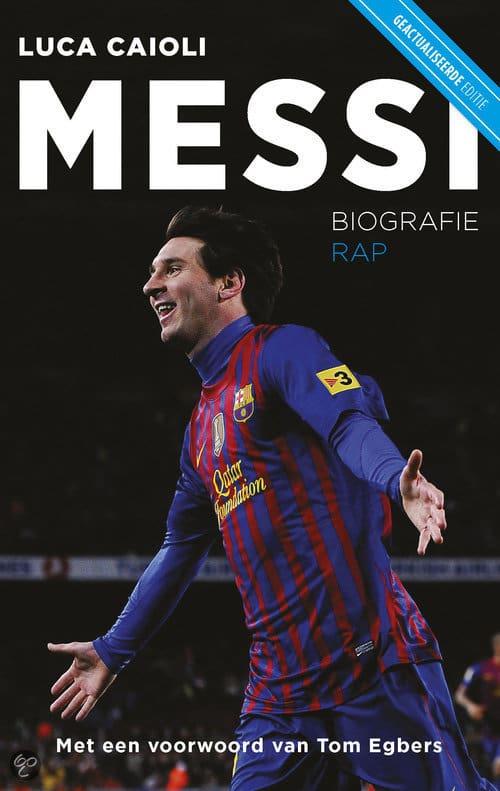 Biografie boek van Lionel Messi